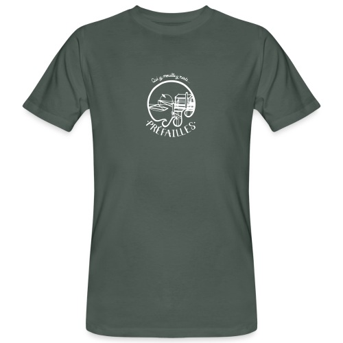 Les pêcheries de Prefailles - T-shirt bio Homme