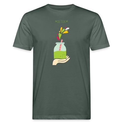 Detox Raimbow - T-shirt ecologica da uomo