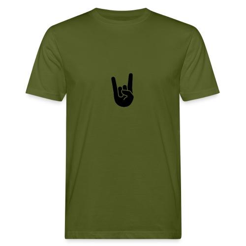 hand rock - Ekologisk T-shirt herr