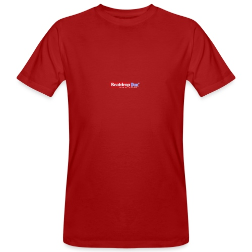beatdropbox logo final and hires - Mannen Bio-T-shirt