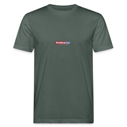 beatdropbox logo final and hires - Mannen Bio-T-shirt