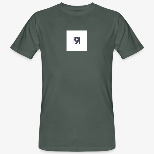 9 Clothing T SHIRT Logo - Men's Organic T-Shirt