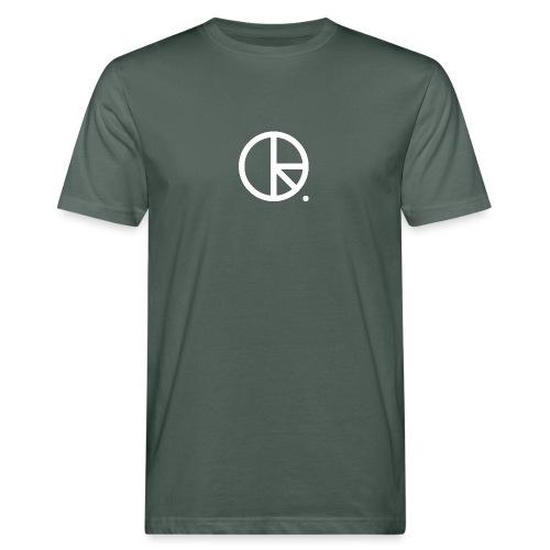 DR weiss - Männer Bio-T-Shirt