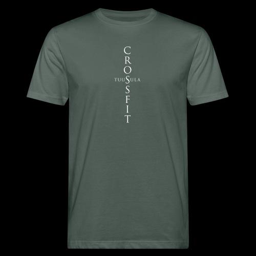 CrossFit Tuusula risti - Miesten luonnonmukainen t-paita