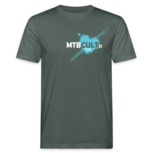 MTB Cult_Schizzi - T-shirt ecologica da uomo