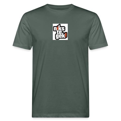 nikstegek shirt - Mannen Bio-T-shirt
