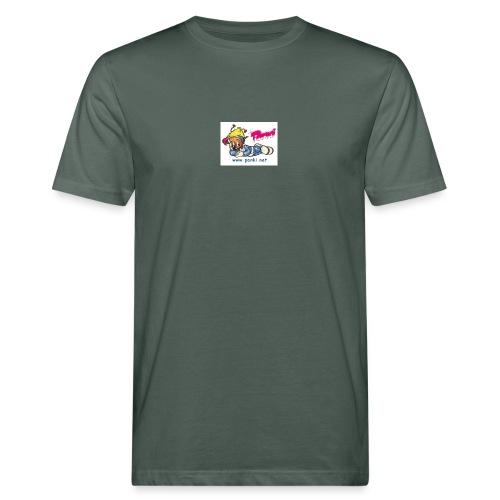 panki sticker neu - Männer Bio-T-Shirt