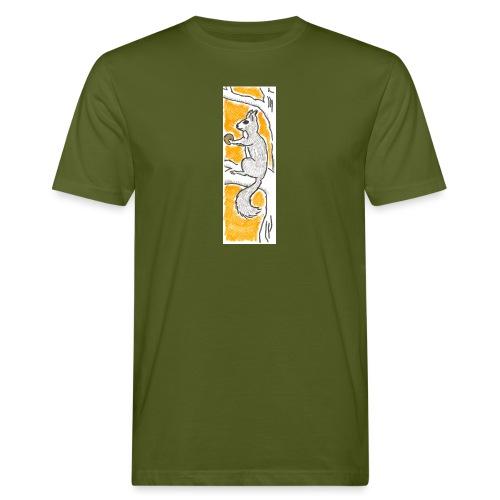 scoiattolo_alma_2015 - T-shirt ecologica da uomo