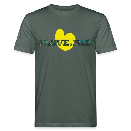 ILOVE.RIO TROPICAL N°1 - Men's Organic T-Shirt