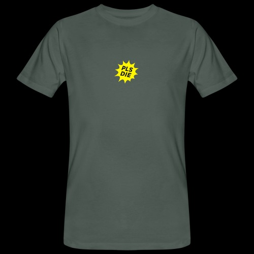 PLSDIE Hatewear - Männer Bio-T-Shirt