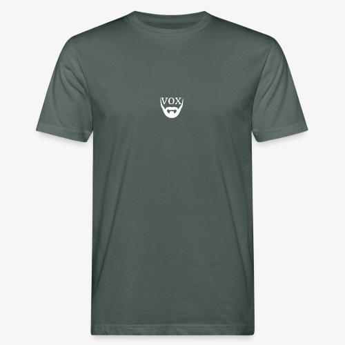 Logo Vox Bianco - T-shirt ecologica da uomo