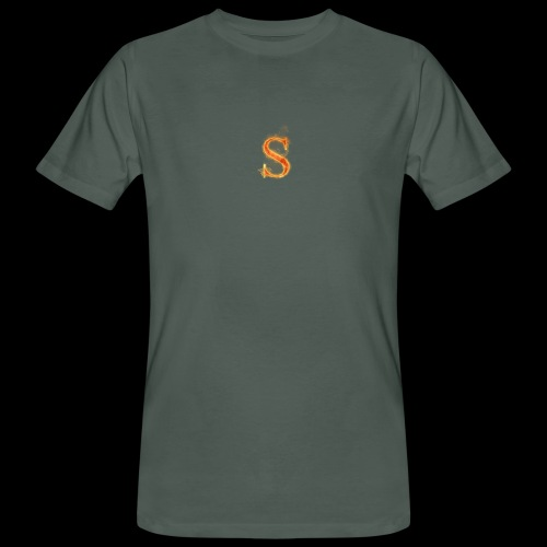 S FOR Sonnit Fire Charge - Men's Organic T-Shirt