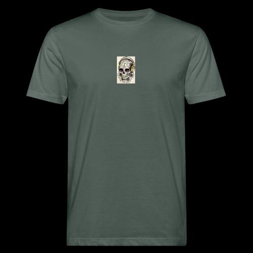 ab7a6a89ac2078fff2dd245fb15abaaf skull tattoo des - Mannen Bio-T-shirt