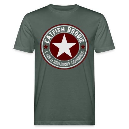 I am a Beanery Criminal - Männer Bio-T-Shirt