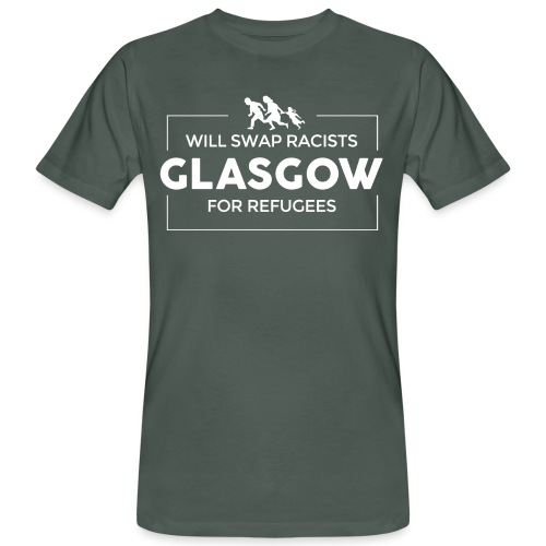 Will Swap Racists For Refugees - Men's Organic T-Shirt