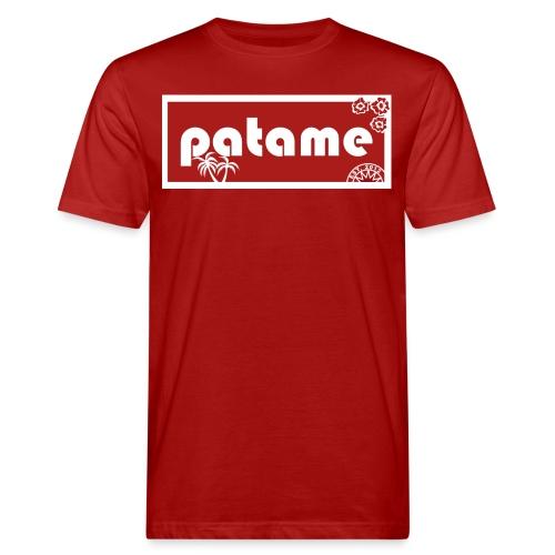 Patame ALOHA Old School - Männer Bio-T-Shirt