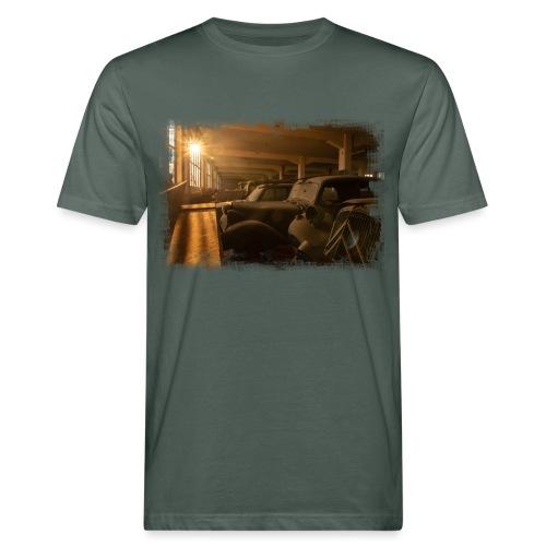 Olditimer Sunset - Männer Bio-T-Shirt