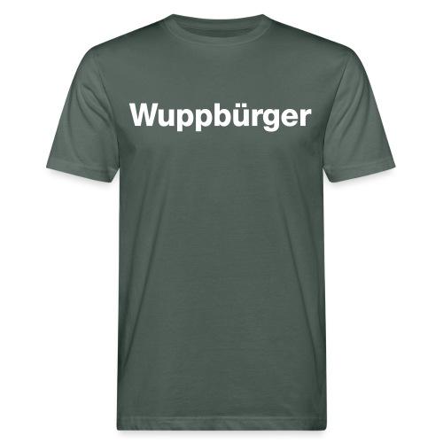 Wuppbu rger - Männer Bio-T-Shirt