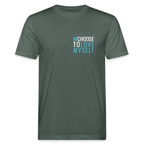 #ictlm 03 weiß - Männer Bio-T-Shirt