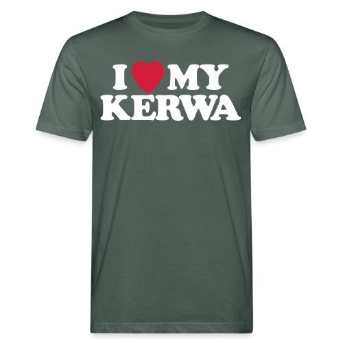 I Love My Kerwa - Männer Bio-T-Shirt