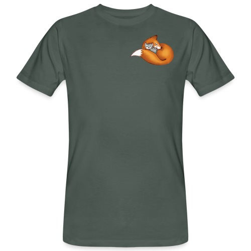 vosje met kat - Men's Organic T-Shirt