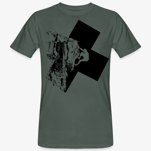 Escalada en roca - Men's Organic T-Shirt
