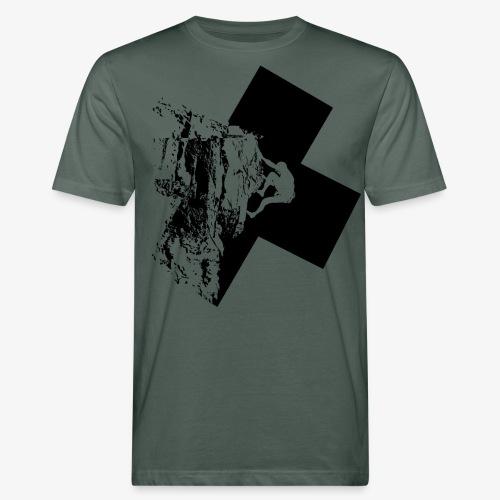 Rock climbing - Men's Organic T-Shirt