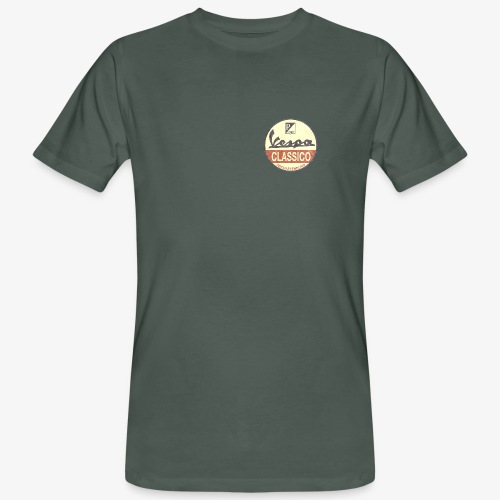 Vintage Logo - Männer Bio-T-Shirt