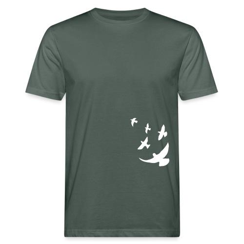 Friedenstauben (frei) - Männer Bio-T-Shirt