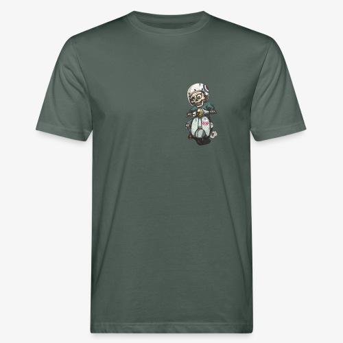 Skullterist - Solo Big Print - Männer Bio-T-Shirt