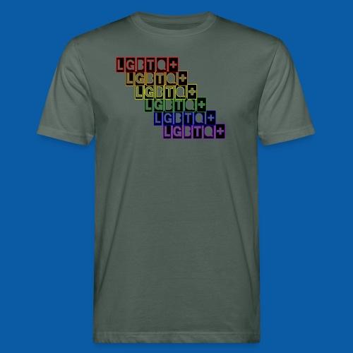 LGBTQ+ Raibow - Männer Bio-T-Shirt
