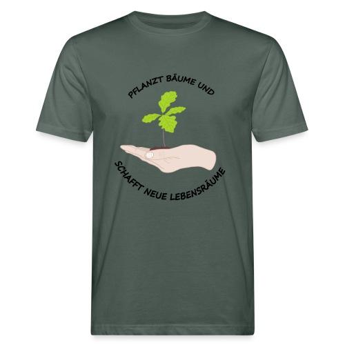 Baume Planzen - Männer Bio-T-Shirt