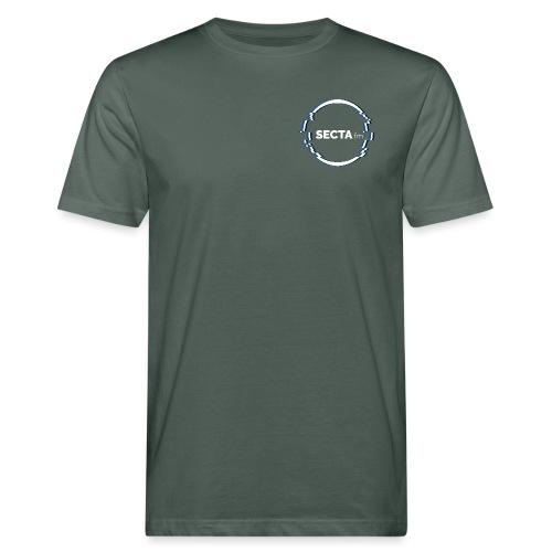 secta ring mit schriftzug - Männer Bio-T-Shirt