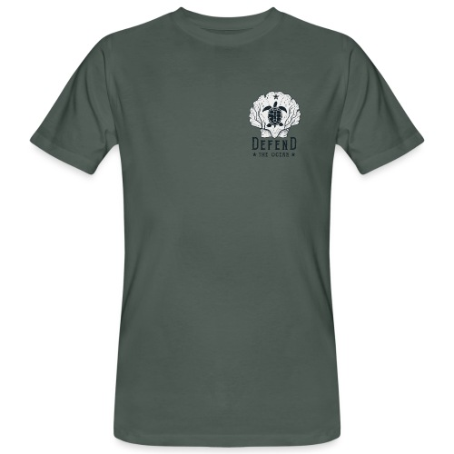 Shell and Turtle - Männer Bio-T-Shirt
