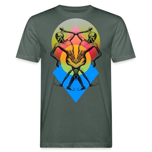 tanzende Skelette - Männer Bio-T-Shirt