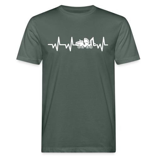 Forst | Herzschlag weiß - Männer Bio-T-Shirt