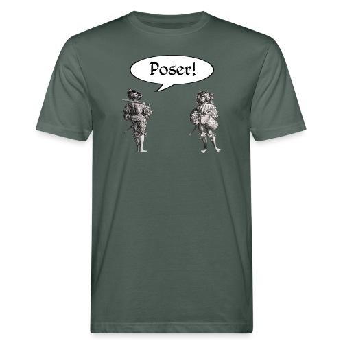 Poser! Landsknechte - Männer Bio-T-Shirt