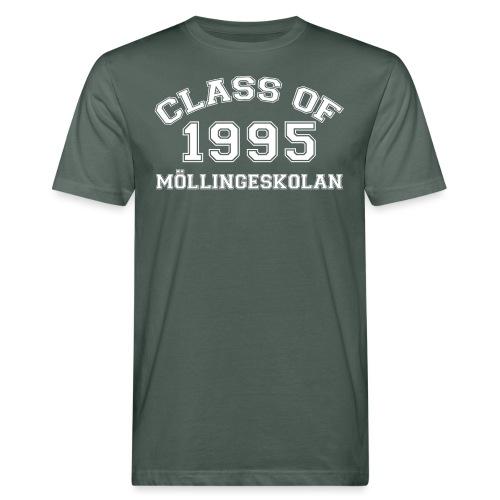 Class95Vit - Ekologisk T-shirt herr