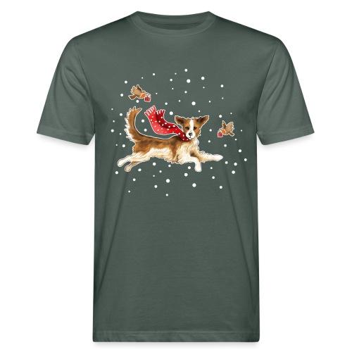 Suza met sneeuwvlokken - Men's Organic T-Shirt