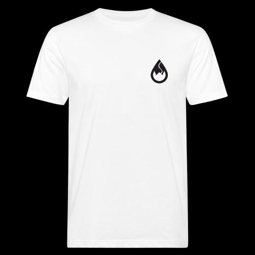 WSC Wicked Sick Crew Tropfen-Logo schwarz - Männer Bio-T-Shirt