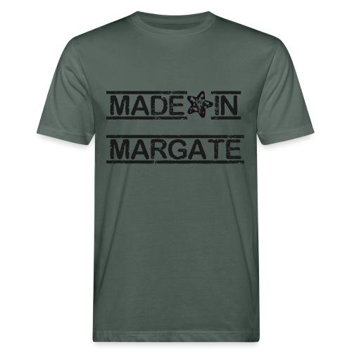 Made in Margate - Black - Men's Organic T-Shirt
