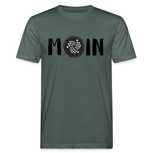 MOIN IOTA | BTC, Kryptowährung | IOTA Shirt - Männer Bio-T-Shirt