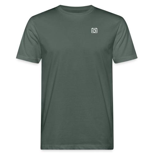 White AYWMC Camera logo - Men's Organic T-Shirt