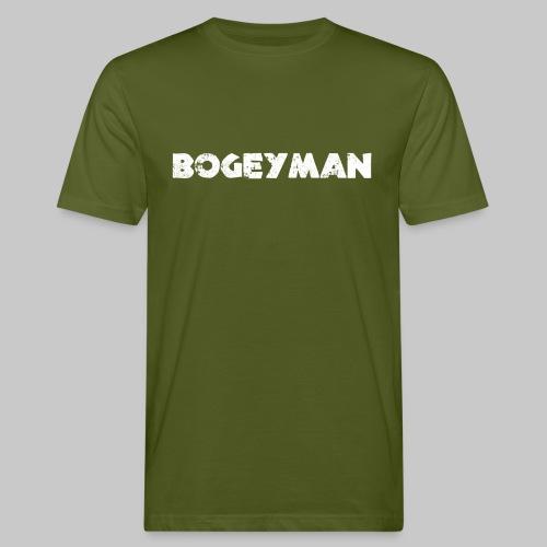 valkoinen - Miesten luonnonmukainen t-paita