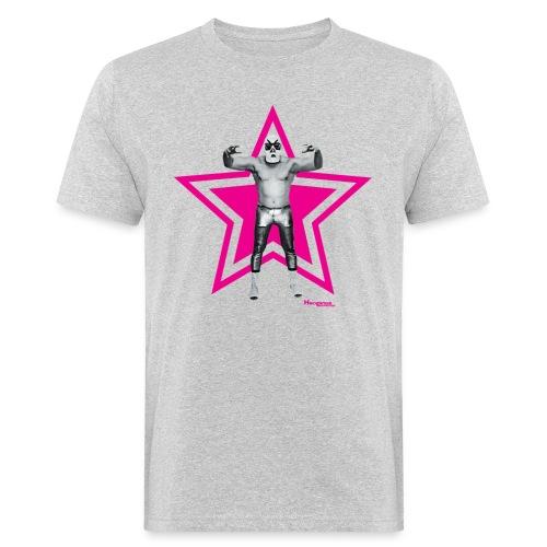 Hazy Logo - Männer Bio-T-Shirt
