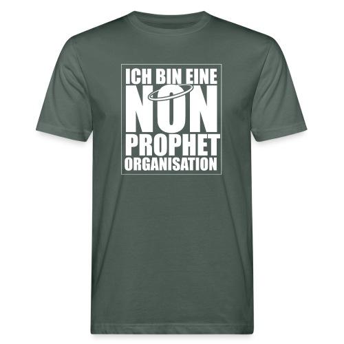 Non-Prophet Organisation (weiss) - Männer Bio-T-Shirt