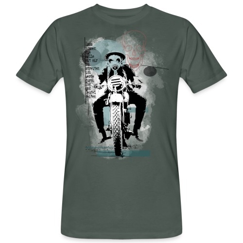 """The Rider"" - Männer Bio-T-Shirt"