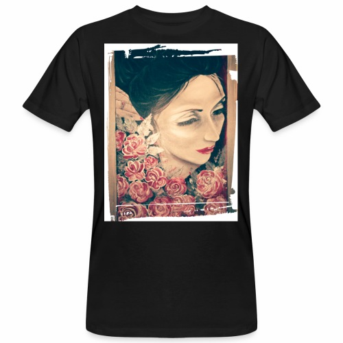 Lady Rose, - T-shirt ecologica da uomo