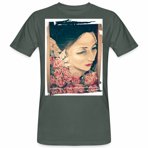 Lady Rose, - T-shirt ecologica da uomo