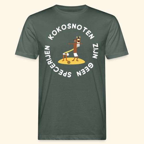 Kokosnoten zijn geen specerijen - Mannen Bio-T-shirt